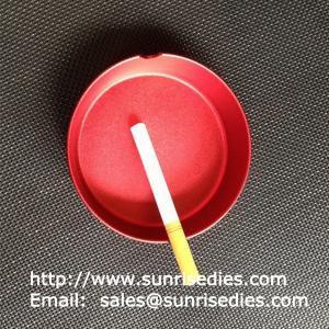 China Anodized Aluminum Smoking Ashtrays, Stocked aluminum alloy pocket cigar ashtrays on sale