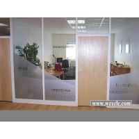 Best Famed Aluminium Modular Office Partitions With Insulating Glass ,Stud Walls wholesale