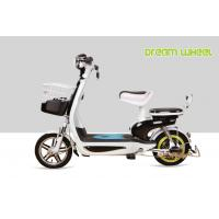 Best 48V 350W  20Ah battery small lovely scooter style pedal assist electric bike/bicycle with long travel distance wholesale