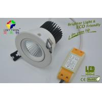 Best 4000K White COB 9 Watt LED Downlights 600lm ROHS For Hotel LED Replacement Lamps wholesale