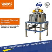 Buy cheap Deironing Dry Powder Magnetic Separation Equipment Water / Oil Double Cooling product