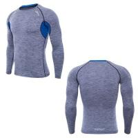 Buy cheap Compress Muscle Mens Sports Top 95% Polyester Dyed Moisture Wicking Multi Color from wholesalers