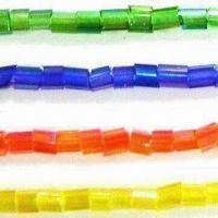 Best Glass Beads in 2-cut Shape, Comes in 15/0, 11/0, 8/0 and 6/0 Inches Sizes wholesale