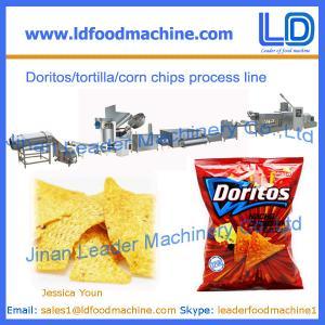 Best Doritos/tortilla/corn chips process line,snacks food machine wholesale