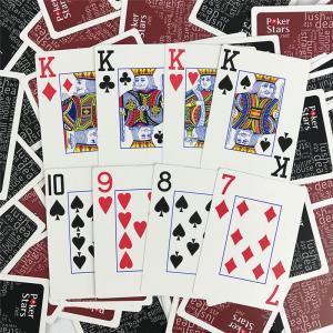 Best CMYK Print Card Games Poker Card Poker Set 1000PCS 63*88MM Size wholesale