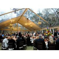 Best 500 People Outdoor Clear Span Tent  Aluminum Structural Luxury Wedding Marquee wholesale