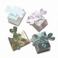 China Wedding Series Paper Gift Box, Measures 7 x 5 x 3.5cm, Customized Design are Welcome on sale