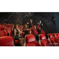 Best Innovative Electric System 5D Movie Theater Cinema Equipment Black , Red Color wholesale