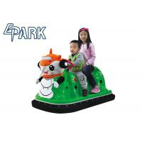 China Indoor amusement Kids Bumper Car Battery Operated with Led Lights on sale