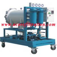 Best Coalescence-separation type Diesel Fuel Oil Filtration Machine wholesale