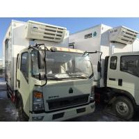 China Commercial Truck Refrigerators 5 Tons With FRP Sandwich Panels Box , Refrigerated Box Truck on sale