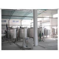 Buy cheap UHT Milk / Pasteurized Milk Processing Line With ISO CE Certificate , 1-20 T/H product