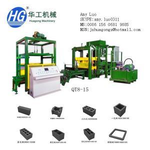 Best QT8-15 high speed fly ash brick making machine block machine in china wholesale