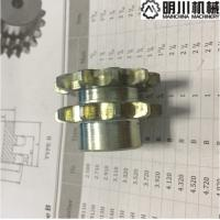 Best 45C Silver Zincing Plating Double Chain Sprocket 06B10T With Grooves wholesale
