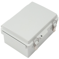 Best IP65 Hinged Plastic Enclosures Weatherproof With SS Latch wholesale