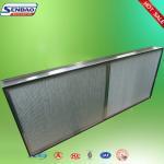 Best Deep Pleated High Temp Hepa Filter Aluminum Foil Industrial wholesale