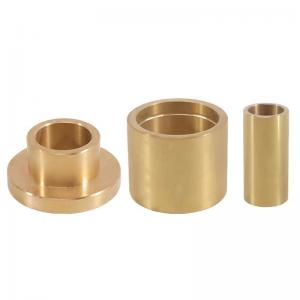 Best Double Loop Grease Groove Cast Bronze Bushings CuZn25AL6Fe3Mn3 wholesale