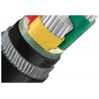 Best Galvanized Steel Wire  Armoured Electrical Cable 4 Cores Low Voltage  XLPE or PVC Insulation AL Cable wholesale