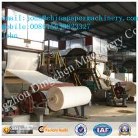 Best 2880mm 8-10T/D toilet paper making machine wwith waste paper as material wholesale