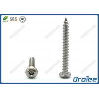 Best Stainless Steel 304 /18-8/A2 Button Head Pin-in Hex Tamper Proof Screw wholesale
