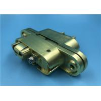 China Satin Brass Heavy Duty Invisible Door Hinges / Left Open SOSS Invisible Hinges 208 on sale