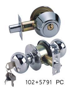 Best Bathroom Door Lock Set (SKL-102+5791PC) wholesale