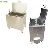 China 10 Gallons - 90 Gallons Commercial Kitchen Soak Tank With Lockable Castor Wheels on sale
