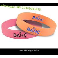 Buy cheap 10 Years Experience Customized Printed/Debossed/Embossed Logo Silicone wristband from wholesalers