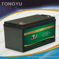 Best 12V 100Ah LiFePO4 Battery  For Solar On - Grid / Off - Grid Power Projects wholesale