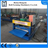Best Roofing Sheet Metal Roll Forming Machines10 - 12m / Min Work Speed wholesale