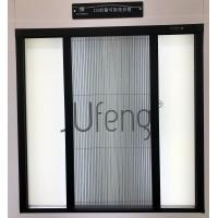 Best Detachable fly screen door with Polyester pleated insect screen mesh wholesale