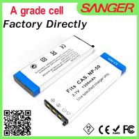 Best Real capacity digital camera battery for CNP50 with factory price wholesale