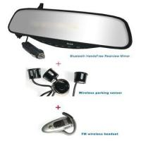 Best Bluetooth stereo Handsfree rearview Mirror+Wireles wholesale
