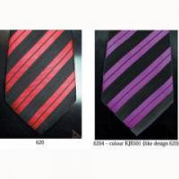 China Striped Ties (9) Black and Red Striped Tie - ST-14 on sale