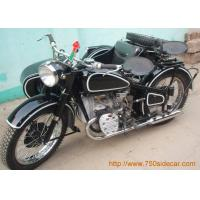 China Different style of our motorcycle Real antique 6V engine sidecar motorcycle on sale