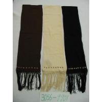 China Children's wear of both woven and knitte 100% cotton w/beading scarf on sale