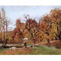 Best Impressionist(3830) Autumn_Landscape,_near_Pontoise wholesale