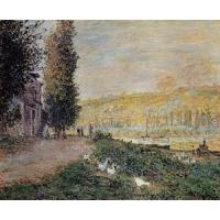 Best Impressionist(3830) The_Banks_of_the_Seine,_Lavacour wholesale