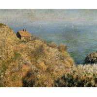 Best Impressionist(3830) The_Fisherman-s_House_at_Varengeville wholesale