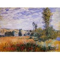 Best Impressionist(3830) Landscape_at_Vetheuil wholesale