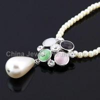 China Pearl Sweater Costume Jewelry Necklaces on sale