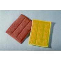China Microfiber Products for Cleaning Microfiber Terry/Scrubber Mesh Pad on sale