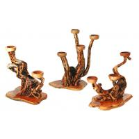 Buy cheap Wooden products candlestick from wholesalers