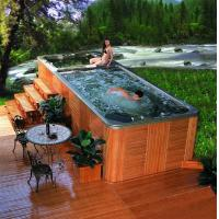 Best Swimming spa khufu-8824spa wholesale