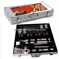Buy cheap 18pcs non-slip tube handle tools set in Aluminium case from wholesalers