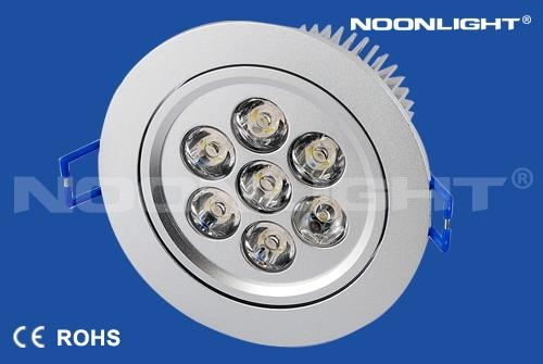 Cheap Mains Voltage High Power 7W LED Downlight for sale