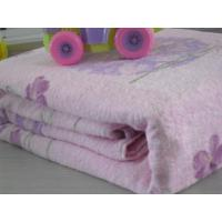 Buy cheap 100% cotton reactive printed towelling coverlet from wholesalers
