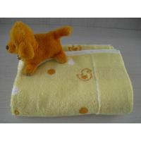 Buy cheap 100% cotton non-twist child towelling coverlet from wholesalers