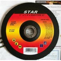 Buy cheap Type 27 Depressed Center Grinding wheels from wholesalers