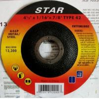 Buy cheap Depressed Centre Cut Off Wheels from wholesalers